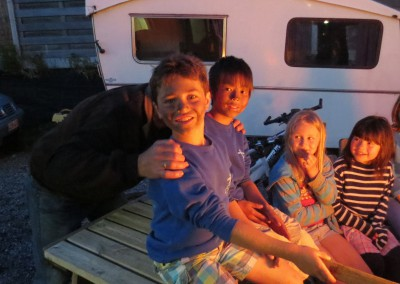 Familietocht & BBQ – juni 2013